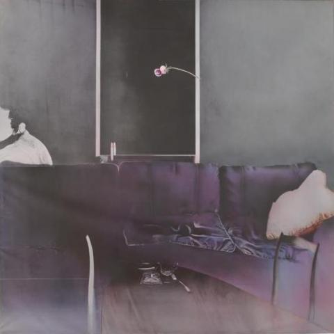 部屋の証人 (Witness of the room) 1972年 200号S 油彩、キャンバス ジャパンアートフェスティバル