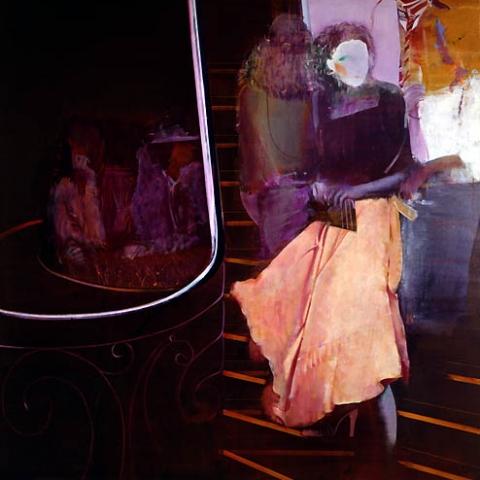 7) オペラ (Opera) 1978年 油彩 S60 ST001-P024
