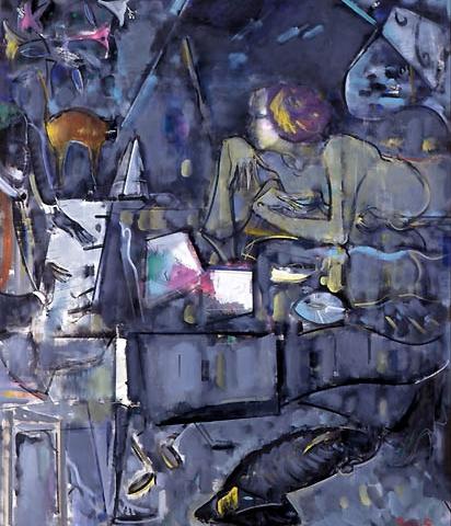 47) ノクターン (Nocturne) 1999年 油彩 F150 ST001-P032