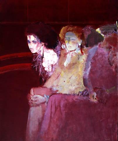 8) オペラ (Opera) 1978年 油彩 F40 ST001-P025